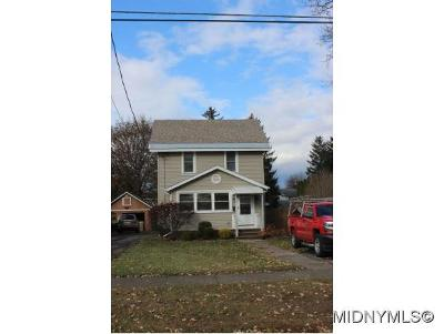Herkimer County Single Family Home For Sale: 107 Steuben Ave