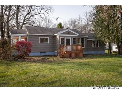 Herkimer County Single Family Home For Sale: 5775 State Route 28
