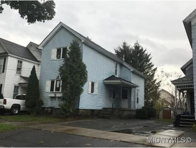 Herkimer County Single Family Home For Sale: 324 Pleasant Ave
