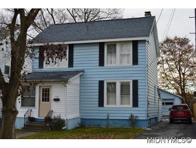 Oneida County Single Family Home For Sale: 1521 St Vincent Street