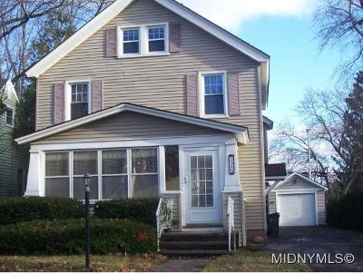 ROME Single Family Home For Sale: 1316 Schuyler St.