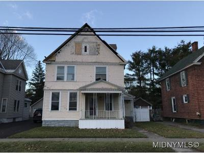 Herkimer County Single Family Home For Sale: 708 Church St