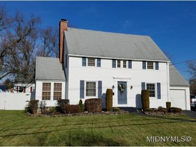 New Hartford Single Family Home For Sale: 1762 Burrstone Road