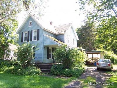 SHERRILL Single Family Home For Sale: 331 East Hamilton Avenue