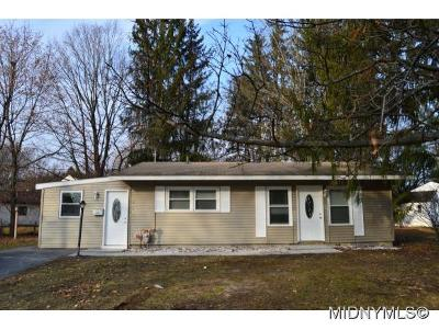 UTICA Single Family Home For Sale: 417 Briarcliff Ave
