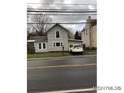 New Hartford NY Single Family Home For Sale: $71,500