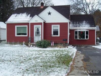 ROME Single Family Home For Sale: 705 Clinton St.