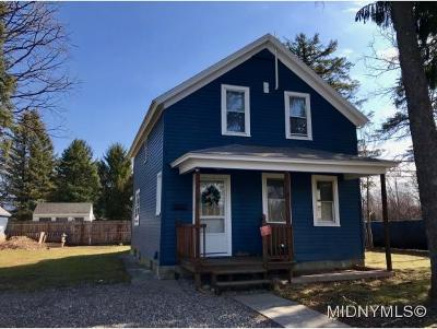 New Hartford NY Single Family Home For Sale: $125,000