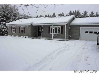 Barneveld Single Family Home For Sale: 158 Hayes Road