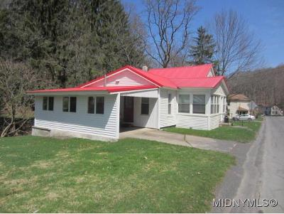 Herkimer County Single Family Home For Sale: 607 Spinnerville Gulf Rd
