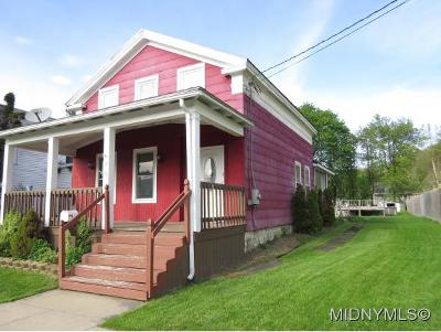 Herkimer County Single Family Home For Sale: 17 Orchard