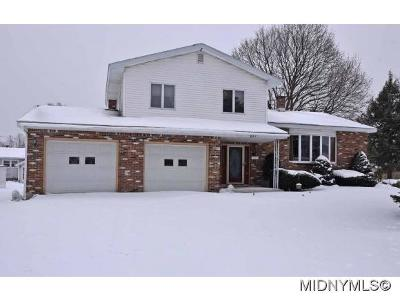 Utica Single Family Home For Sale: 421 Buchanan Road