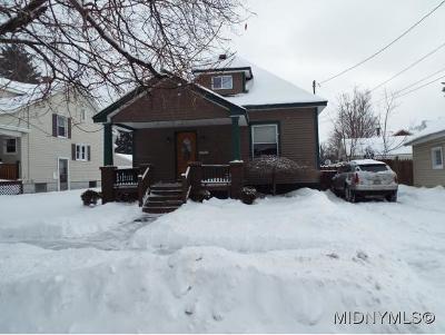 Oneida County Single Family Home For Sale: 402 Spratt Pl.