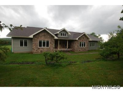 Herkimer, Ilion, Little Falls, Mohawk, Schuyler Single Family Home For Sale: 188 Casler Rd
