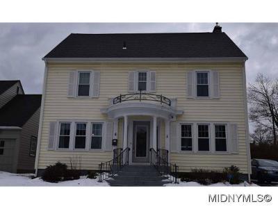 Utica Single Family Home For Sale: 4 Ferris Ave
