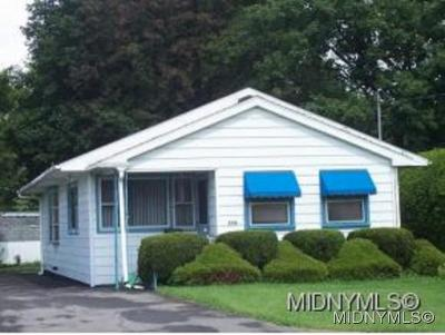 Rome NY Single Family Home For Sale: $72,000