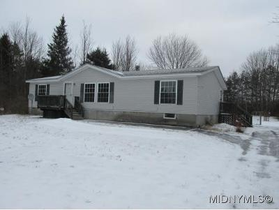 Westmoreland NY Mobile Home For Sale: $94,000