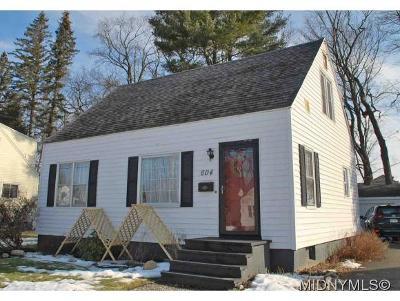 Oneida County Single Family Home For Sale: 604 Dawes Avenue