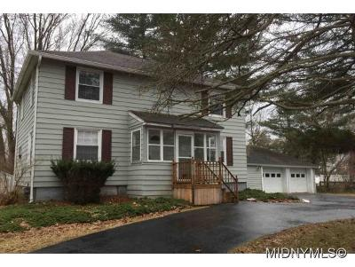 Oriskany Single Family Home For Sale: 7056 Rome Oriskany Road