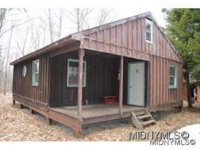 Forestport Single Family Home For Sale: 11920 Bellingertown Road Lot #47