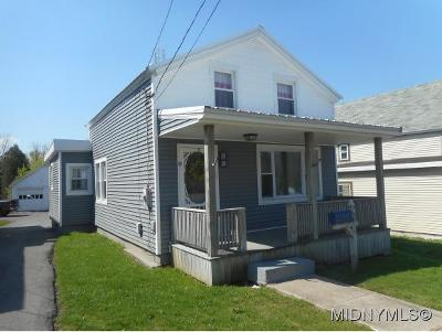 New York Mills Single Family Home For Sale: 58 Burrstone