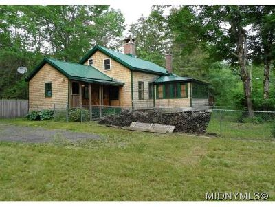 BARNEVELD Single Family Home For Sale: 8485 Trenton Falls Rd
