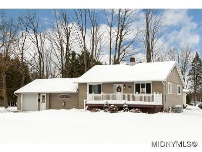 New York Mills Single Family Home For Sale: 17 Henderson St