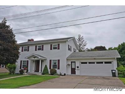 Herkimer, Ilion, Little Falls, Mohawk, Schuyler Single Family Home For Sale: 13 Brookside Drive