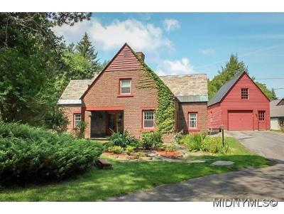 Utica Single Family Home For Sale: 27 Sherman Circle