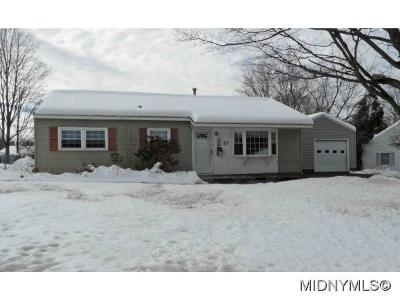 New Hartford NY Single Family Home For Sale: $117,900