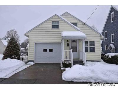Utica Single Family Home For Sale: 101 Harter Place