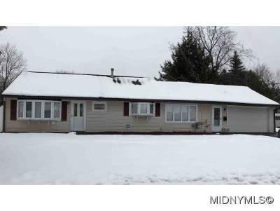 Utica Single Family Home For Sale: 400 Van Dyke Road