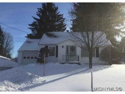 New Hartford NY Single Family Home For Sale: $159,900
