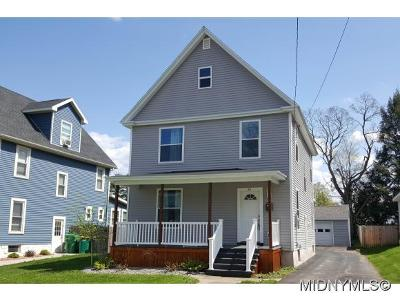 Whitesboro Single Family Home For Sale: 61 Westmoreland St