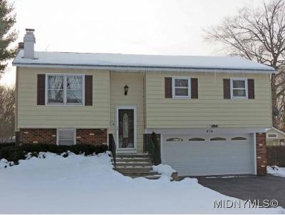 Oneida County Single Family Home For Sale: 474 Tryon Road