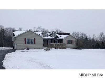 Deansboro Single Family Home For Sale: 7266 California Rd