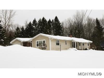 Herkimer County Single Family Home For Sale: 2407 Higby Road