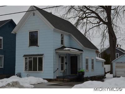 Herkimer County Single Family Home For Sale: 432 N Washington Street