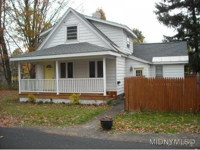 New Hartford NY Single Family Home For Sale: $79,900