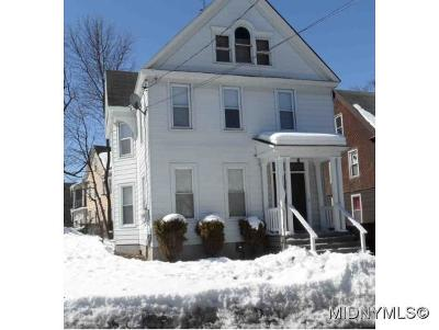 Utica Multi Family Home For Sale: 3 Sherman Place