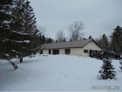 Boonville Single Family Home For Sale: 9443 Hawkinsville Rd