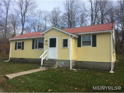 Forestport NY Single Family Home For Sale: $145,900