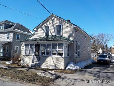 Herkimer County Single Family Home For Sale: 215 E Steele St