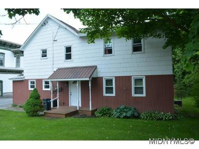 Deansboro Multi Family Home For Sale: 2806 Nys Rte 12b