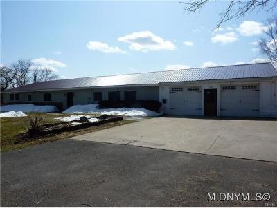 Rome Single Family Home For Sale: 5430 Hoag Road