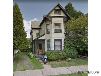 Oneida County Single Family Home For Sale: 25 Faxton St