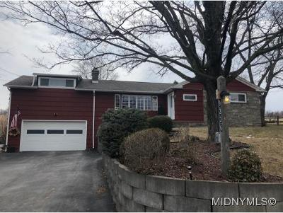 SAUQUOIT Single Family Home For Sale: 9336 Butler Road