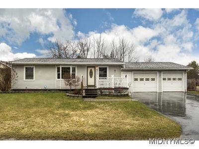 Utica Single Family Home For Sale: 11 Sunnybrook Ln
