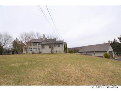 Oneida County Single Family Home For Sale: 8956 Red Hill Road