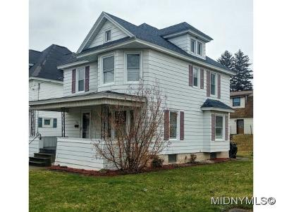 Herkimer County Single Family Home For Sale: 525 S. Frankfort
